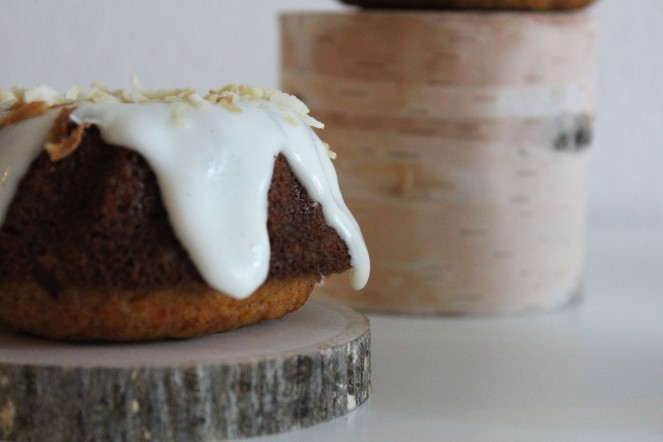 Carrot & Coconut Mini Bundt Cakes || The Crowded Kitchen