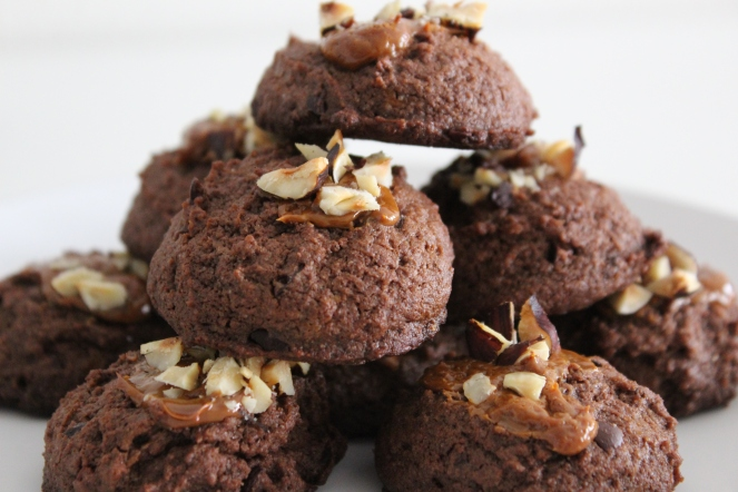 Dulce de Leche Brownie Cookies || The Crowded Kitchen