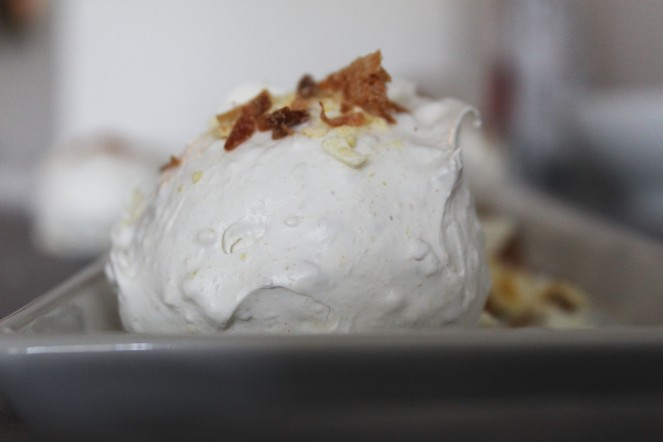 Mango + Coconut Swiss Meringues || The Crowded Kitchen