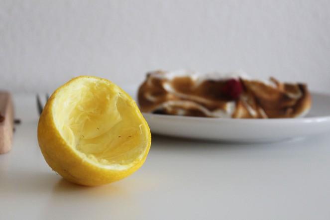 Lemon & Raspberry Meringue Pound Cake || The Crowded Kitchen