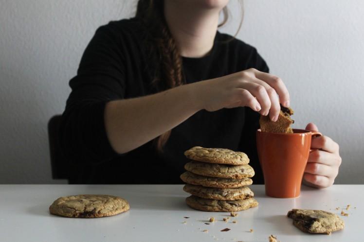 Hazelnut Chocolate Chip Cookies The Crowded Kitchen