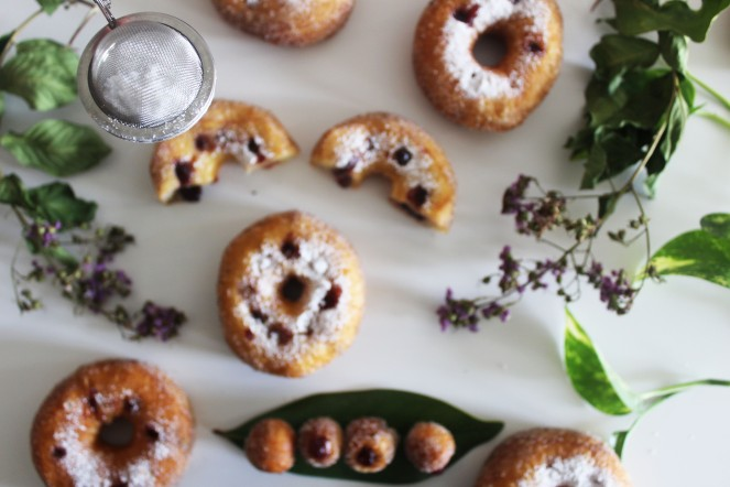 Lemon Curd & Blackberry Jam Faux-Cronuts    The Crowded Kitchen