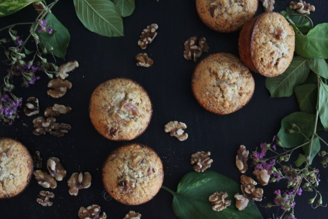 Browned Butter + Walnut Friands || The Crowded Kitchen