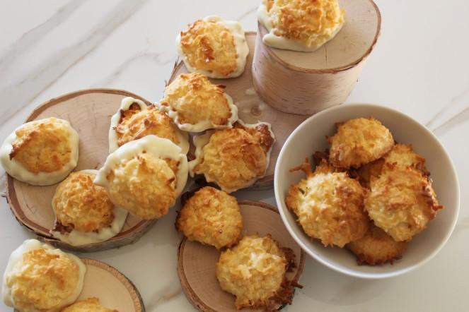 LEMON COCONUT MACAROONS 16
