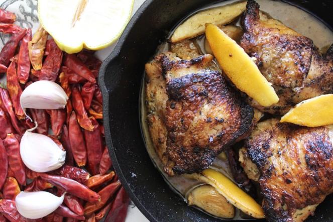 Lemon Pepper Garlic Chicken & Sauce 13