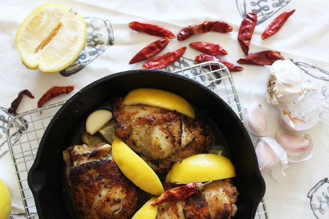 Lemon Pepper Garlic Chicken & Sauce 2