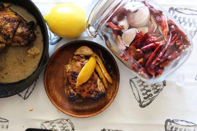 Lemon Pepper Garlic Chicken & Sauce 22