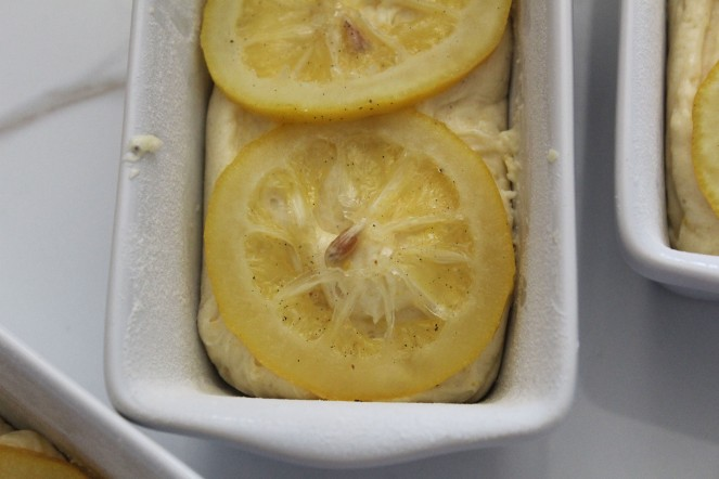 Lemon White Chocolate Cake w. Salted Candied Lemon Slices 11