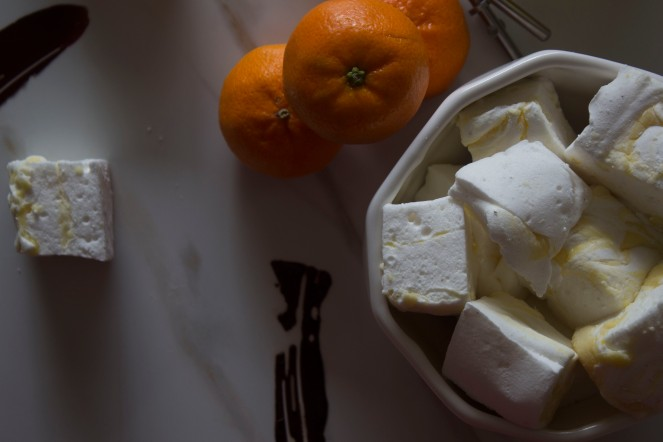 SOUR ORANGE AND RUM MARSHMALLOWS 50